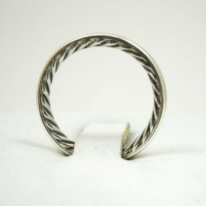 Authentic David Yurman Cable Stack Ring, Size 7, 3mm, 3.2 grams, Sterling Silver